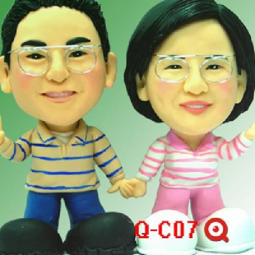 Q-C07 雙人-母親節公仔